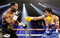 """Manny Pacquiao Signed 8x10 Photo Inscribed """"Pacman"""" (PSA COA) at PristineAuction.com"""