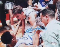 Christian Laettner Signed Duke Blue Devils 8x10 Photo (PSA COA) at PristineAuction.com