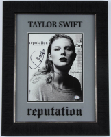 "Taylor Swift Signed 15.5x19.5 Custom Framed ""Reputation"" Album Photo Display (PSA Hologram) at PristineAuction.com"