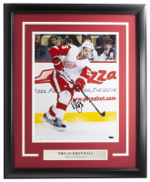 Niklas Kronwall Signed Red Wings 16x20 Custom Framed Photo Display (JSA COA) at PristineAuction.com