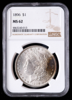 1896 Morgan Silver Dollar (NGC MS62) (Toned) at PristineAuction.com