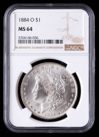 1884-O Morgan Silver Dollar (NGC MS64) at PristineAuction.com