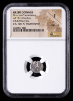 Greek Coinage 4th Century B.C. - Thracian Cheronesus AR Hemidrachm Ancient Silver Coin - obv Lion, rev Incuse Punch (NGC Fine) at PristineAuction.com