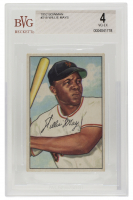 Willie Mays 1952 Bowman #218 (BVG 4) at PristineAuction.com