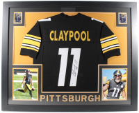 Chase Claypool Signed 35x43 Custom Framed Jersey (Beckett COA) at PristineAuction.com