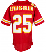 Clyde Edwards-Helaire Signed Jersey (Beckett COA) at PristineAuction.com