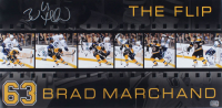 Brad Marchand Signed Bruins 12x24 Photo (YSMS COA) at PristineAuction.com