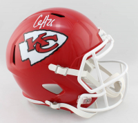 Clyde Edwards-Helaire Signed Chiefs Full-Size Speed Helmet (Beckett COA) at PristineAuction.com