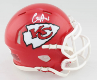 Clyde Edwards-Helaire Signed Chiefs Speed Mini Helmet (Beckett COA) at PristineAuction.com