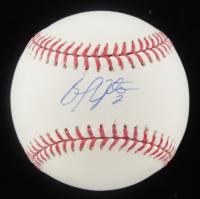 B. J. Upton Signed OML Baseball (MLB Hologram, Fanatics Hologram & Upton Hologram) at PristineAuction.com