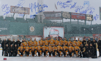 """Bruins """"2010 Winter Classic"""" 18x30 Photo Signed by (18) with Zdeno Chara, Patrice Bergeron, Mark Recchi, Tim Thomas (YSMS COA) at PristineAuction.com"""