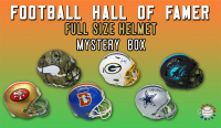 Schwartz Sports Football Hall of Famer Signed Full Size Helmet Mystery Box - Series 9 (Limited to 100) at PristineAuction.com