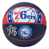 Dwight Howard Signed 76ers Logo Basketball (Beckett COA) at PristineAuction.com