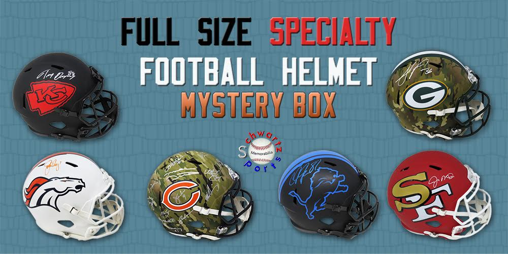 Schwartz Sports Full-Size SPECIALTY Helmet Mystery Box – Series 7 (Limited to 100) - ALL ARE FULL-SIZE SPECIALTY HELMETS!!! at PristineAuction.com