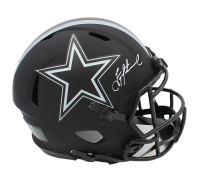 Troy Aikman Signed Cowboys Full-Size Authentic On-Field Eclipse Alternate Speed Helmet (Beckett COA) at PristineAuction.com