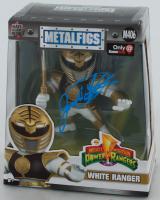 Jason David Frank Signed Mighty Morphin Power Rangers White Ranger Metalfigs Figurine (Beckett COA) at PristineAuction.com