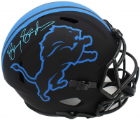 Barry Sanders Signed Lions Full-Size Eclipse Alternate Speed Helmet (Schwartz COA) at PristineAuction.com