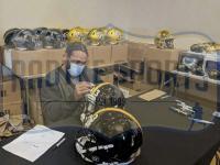 Troy Polamalu Signed Steelers Full-Size Authentic On-Field Speed Helmet (Radtke COA) at PristineAuction.com