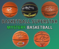 Schwartz Sports Basketball Superstar Signed Basketball Mystery Box - Series 21 (Limited to 100) (Pristine Exclusive Edition) at PristineAuction.com