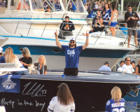 """Victor Hedman Signed Lightning 8x10 Photo Inscribed """"Party In The Bay"""" (Hedman COA) at PristineAuction.com"""