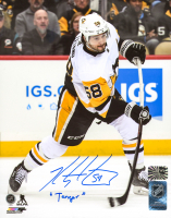 "Kris Letang Signed Penguins 8x10 Photo Inscribed ""Tanger"" (Letang COA) at PristineAuction.com"