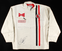 Dale Earnhardt Jr. Signed Budweiser Chase Authentic Driver's Suit / Jacket (Dale Jr. Hologram & COA) at PristineAuction.com
