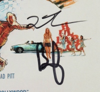 """Brad Pitt, Quentin Tarantino & Margot Robbie Signed """"Once Upon a Time in Hollywood"""" 10.5x16.5 Photo (Beckett Hologram) at PristineAuction.com"""