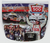 Dale Earnhardt Jr. Signed 2014 NASCAR #88 National Guard - Daytona 500 Win - 1:8 Scale Premium Action Tin Mini-Hood (Dale Jr. Hologram & COA) at PristineAuction.com