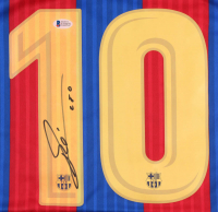 """Lionel Messi Signed Jersey Inscribed """"Leo"""" (Beckett COA) at PristineAuction.com"""