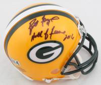 "Brett Favre Signed LE Packers Mini Helmet Inscribed ""Hall of Fame"" & ""2016"" (Radtke COA) at PristineAuction.com"