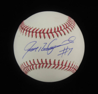 Ivan Rodriguez Signed OML Baseball (Beckett COA) at PristineAuction.com