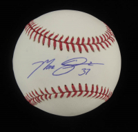 Max Scherzer Signed OML Baseball (MLB Hologram) at PristineAuction.com
