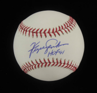 "Fergie Jenkins Signed OML Baseball Inscribed ""HOF 91"" (Beckett COA) at PristineAuction.com"