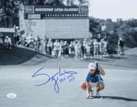 "Stacy Lewis Signed 11x14 Photo Inscribed ""POY 2012 2014"" (JSA COA) at PristineAuction.com"