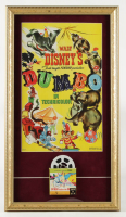 "Walt Disney Fantasyland's ""Dumbo"" 14x25 Custom Framed Print Display with Vintage Film Reel at PristineAuction.com"