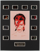 David Bowie LE 8x10 Custom Matted Original Film / Movie Cell Display at PristineAuction.com