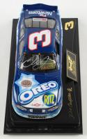 Dale Earnhardt Jr. Signed 2002 NASCAR #3 Oreo - Daytona 300 Win - Raced Version - 1:24 Premium Revell Diecast Car (Dale Jr. Hologram & COA) at PristineAuction.com