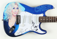 "Cher Signed 39"" Electric Guitar Inscribed ""Love"" & ""2020"" (PSA Hologram) at PristineAuction.com"