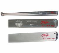 "Mike Trout Signed 2014 All-Star Game LE Acrylic Baseball Bat Inscribed ""2014 ASG MVP"" (MLB Hologram) at PristineAuction.com"