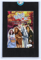 "Jerry Maren Signed LE ""The Wizard of Oz"" 5x7 Print Inscribed ""Lollipop Kid"" with Authentic Brick Prop Piece from The Yellow Brick Road (JSA COA & Odyssey COA) at PristineAuction.com"