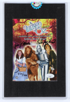 """Jerry Maren Signed LE """"The Wizard of Oz"""" 5x7 Print Inscribed """"Lollipop Kid"""" with Authentic Brick Prop Piece from The Yellow Brick Road (JSA COA & Odyssey COA) at PristineAuction.com"""