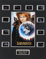 """Labyrinth"" LE 8x10 Custom Matted Original Film / Movie Cell Display at PristineAuction.com"