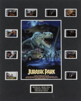 """""""Jurassic Park"""" LE 8x10 Custom Matted Original Film / Movie Cell Display at PristineAuction.com"""