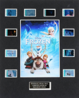 """""""Frozen"""" LE 8x10 Custom Matted Original Film / Movie Cell Display at PristineAuction.com"""