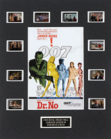 """Dr. No"" LE 8x10 Custom Matted Original Film / Movie Cell Display at PristineAuction.com"