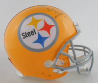 Ben Roethlisberger Signed Steelers Full-Size Authentic On-Field Throwback Helmet (Fanatics Hologram) at PristineAuction.com