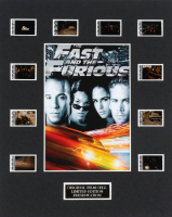 """The Fast and the Furious"" LE 8x10 Custom Matted Original Film / Movie Cell Display at PristineAuction.com"