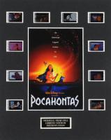 """Pocahontas"" LE 8x10 Custom Matted Original Film / Movie Cell Display at PristineAuction.com"