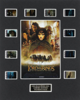 """""""The Lord of the Rings: The Fellowship of the Ring"""" LE 8x10 Custom Matted Original Film / Movie Cell Display at PristineAuction.com"""