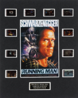 """The Running Man"" LE 8x10 Custom Matted Original Film / Movie Cell Display at PristineAuction.com"